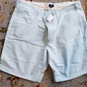 "NWT J.Crew Baby Blue 9"" shorts"